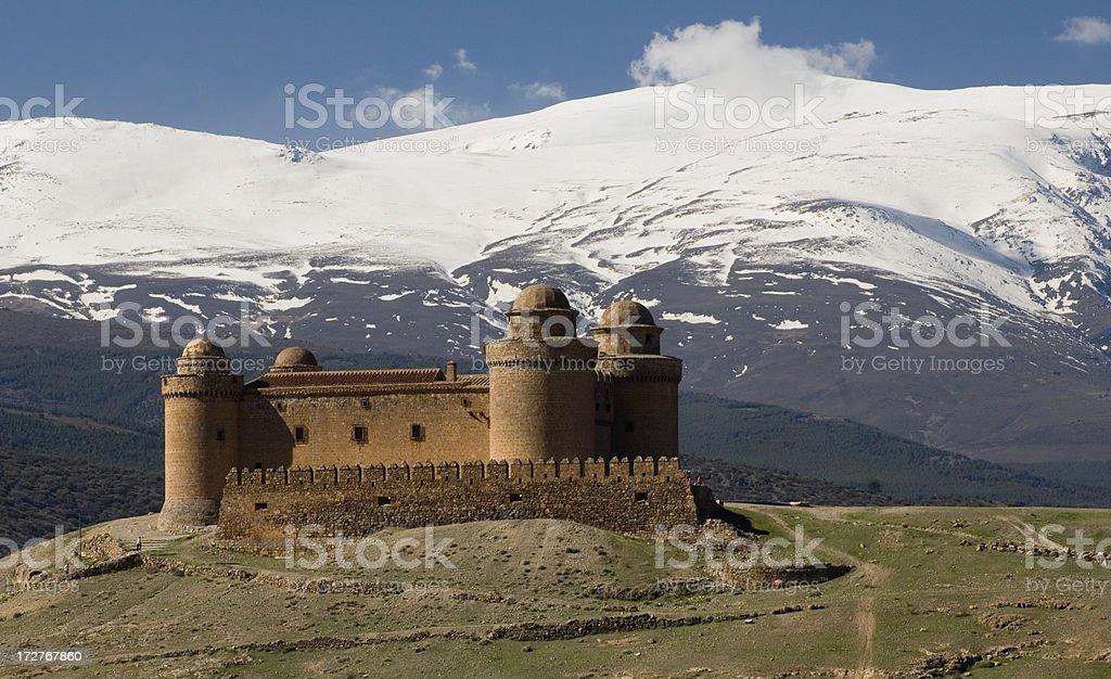 La Calahorra royalty-free stock photo