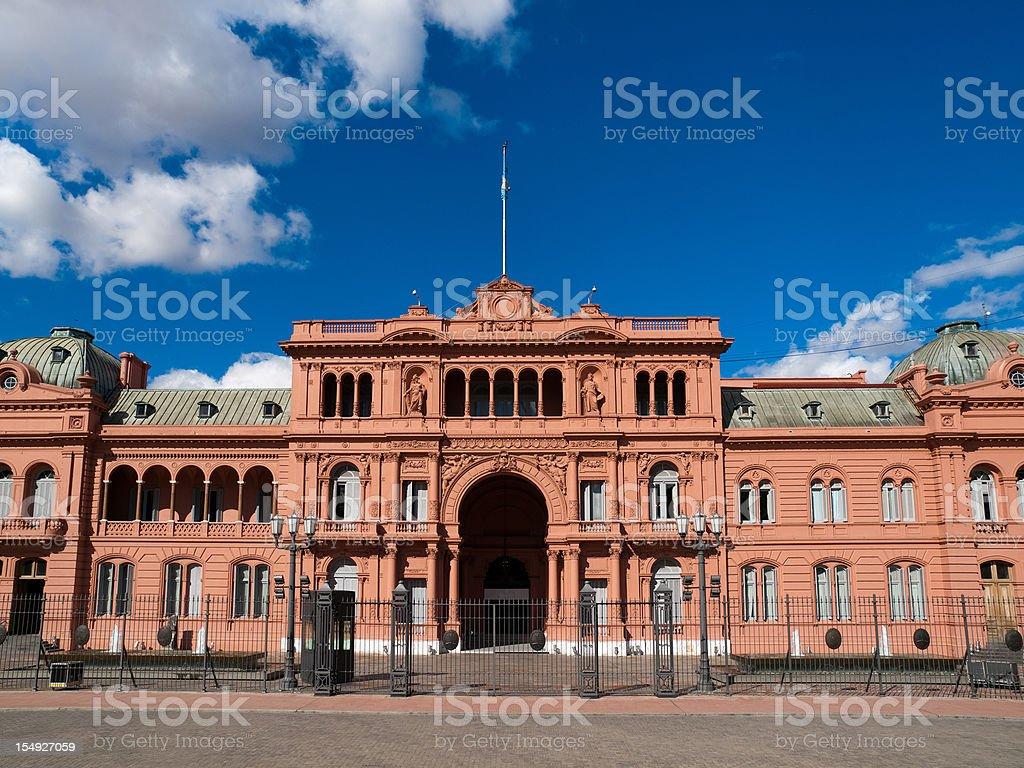 La Casa Rosada Buenos Aires Argentina stock photo