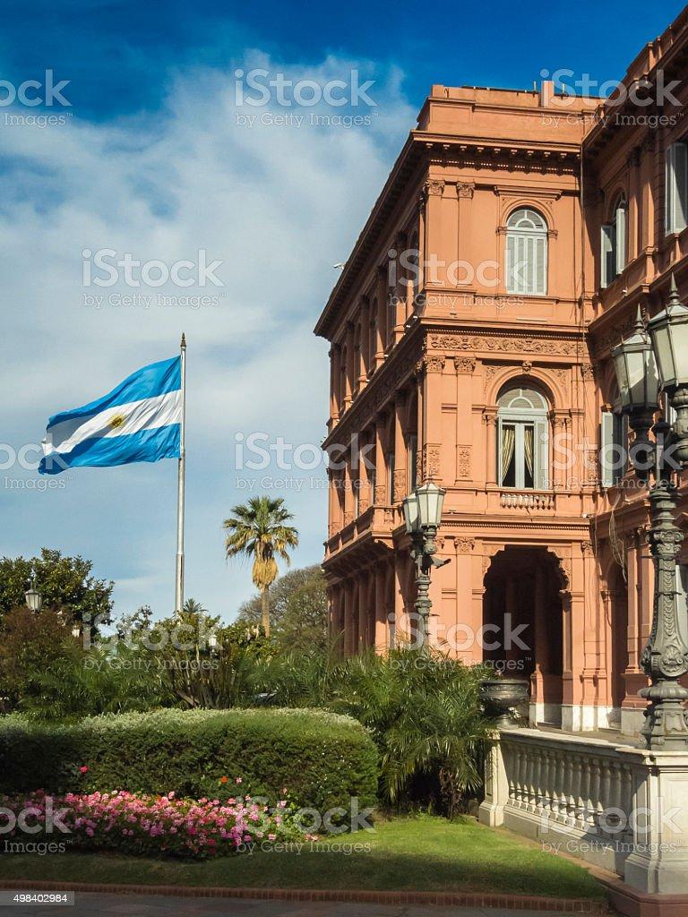 La Casa Rosada-Buenos Aires, Argentina - foto de acervo