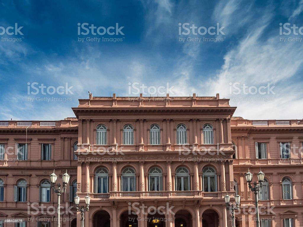 La Casa Rosada - Buenos Aires, Argentina stock photo