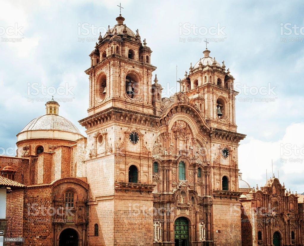 La Compañia de Jesús in Cusco stock photo