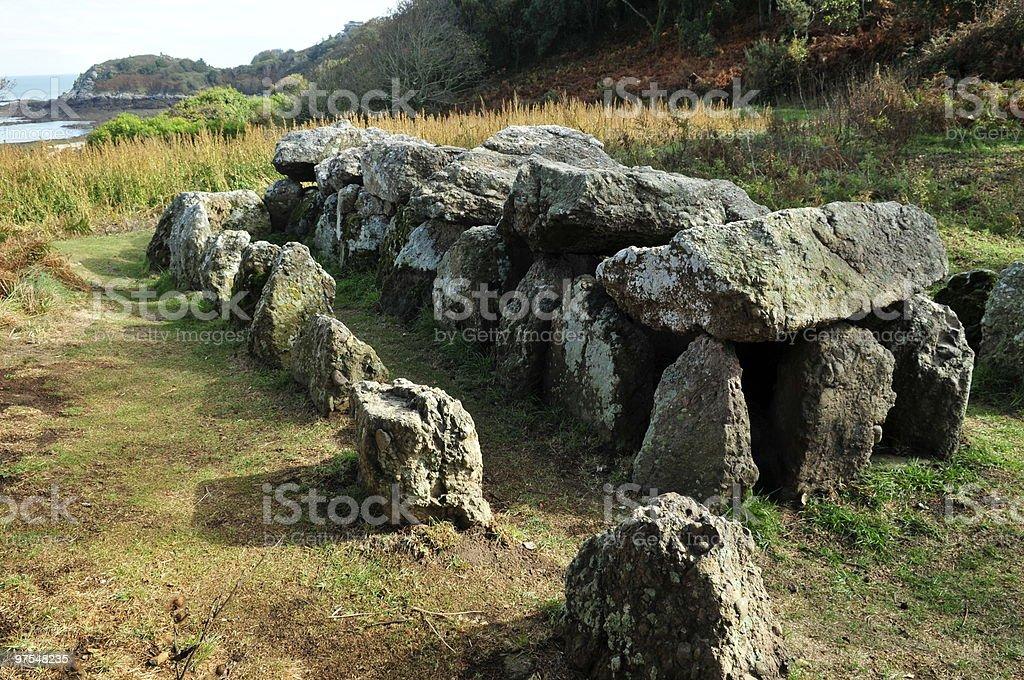 La Couperon Dolmen de Jersey photo libre de droits