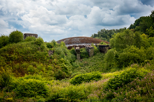 La Coupole (The Dome), a Second World War bunker complex, V-2 rockets launch installation in the Pas-de -Calais. France