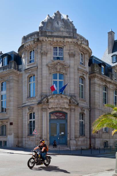 La Craffe College in Nancy stock photo