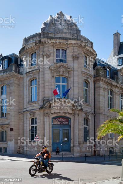 La Craffe College In Nancy Stock Photo - Download Image Now