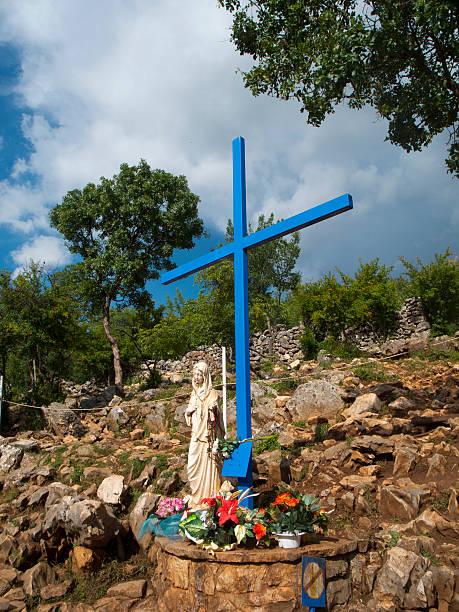 La croix bleue de Medjugorje – Foto