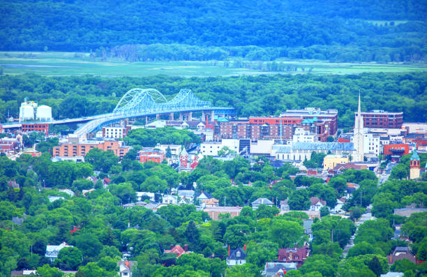 La Crosse, Wisconsin La Crosse is a city in the U.S. state of Wisconsin and the county seat of La Crosse County. Lying alongside the Mississippi River wisconsin stock pictures, royalty-free photos & images