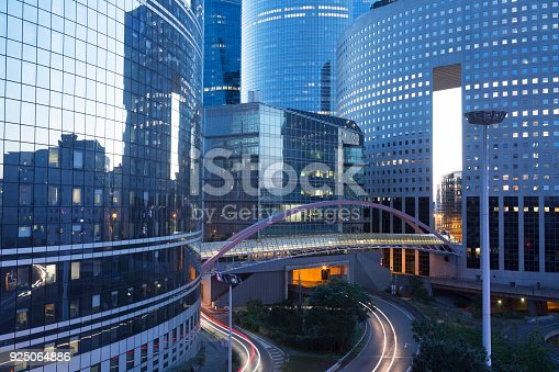 889637894 istock photo La Defense Corporate Buildings, Paris, France 925064886
