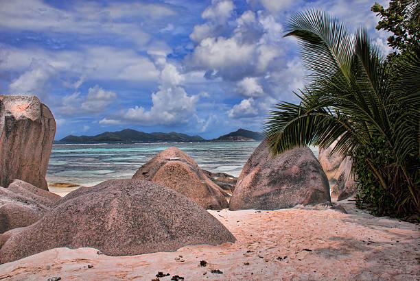 La Digue, Seychellen Strand – Foto