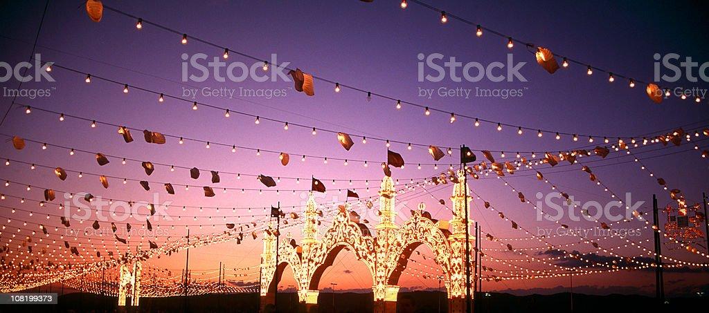 La Feria stock photo