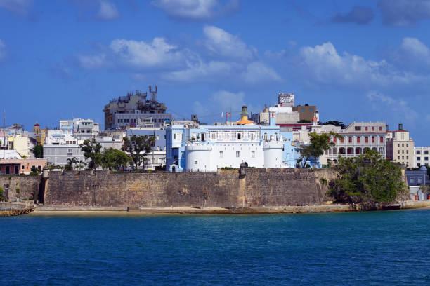 La Fortaleza in Old San Juan, Puerto Rico. – Foto