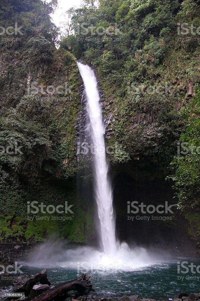 La Fortuna cascade, Costa Rica stock photo