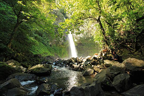 La Fortuna Waterfall stock photo