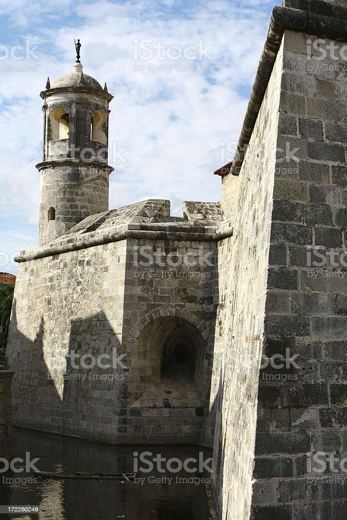 La Fuerza Castle stock photo