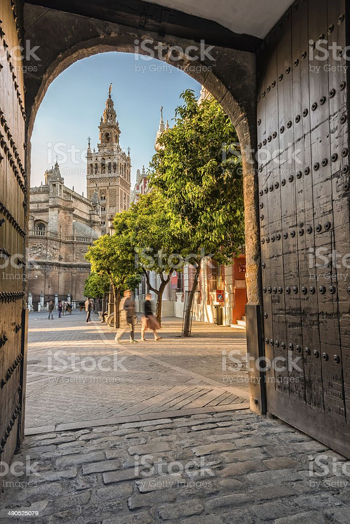 La Giralda - Sevilla - Andalucia - Spain stock photo