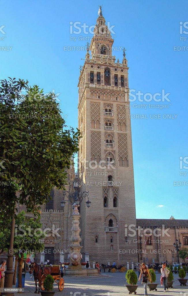 La Giralda - Seville stock photo