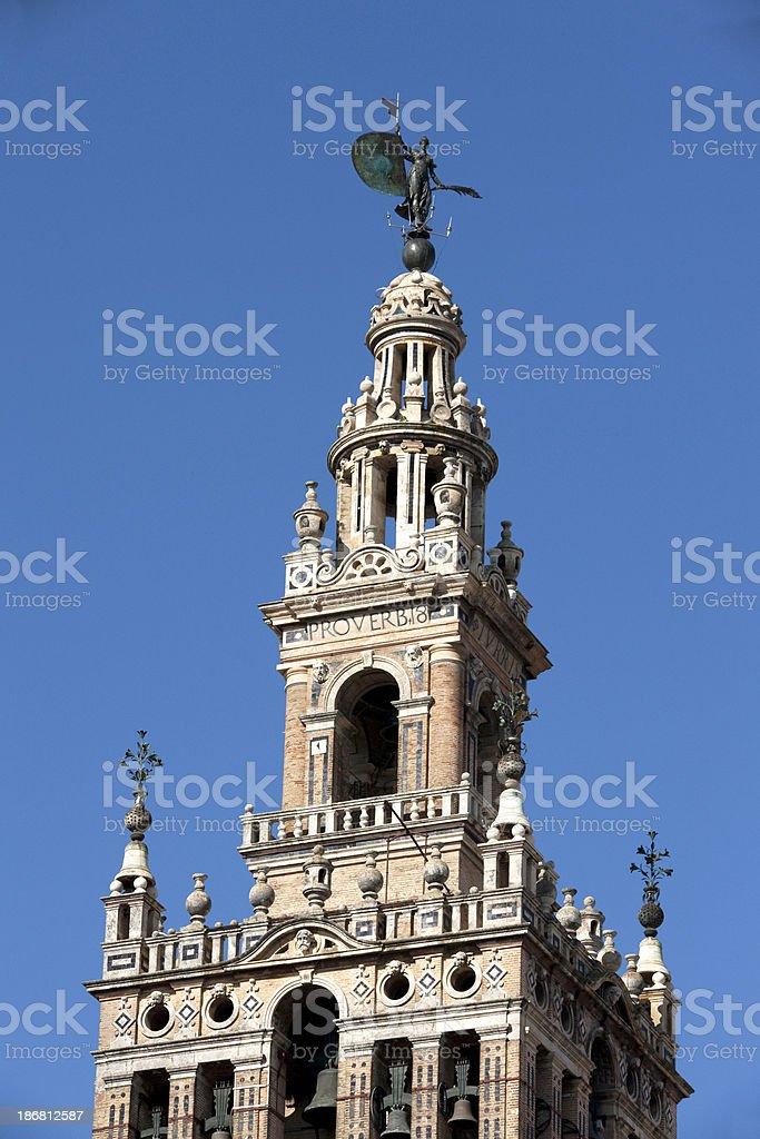 La Giralda Seville Spain royalty-free stock photo