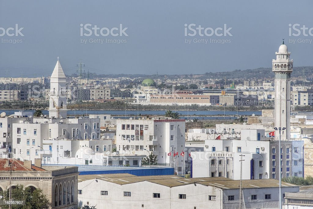 La Goulette, Tunisia stock photo