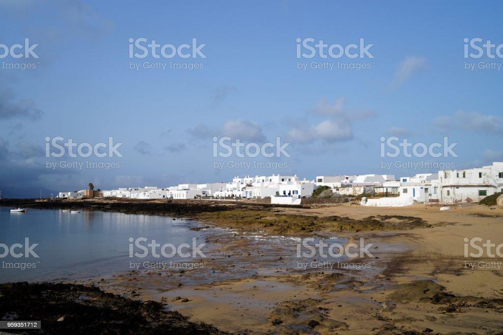 La Graciosa, Canary Islands, Spain stock photo
