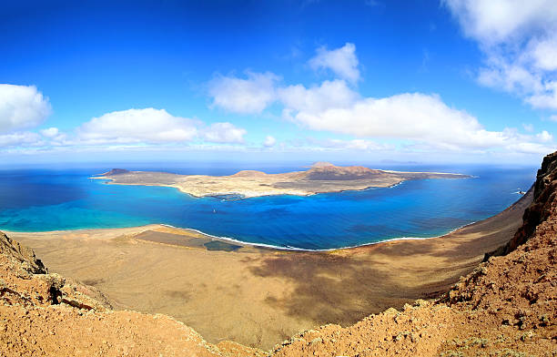 La Graciosa island, Lanzarote. - foto de stock