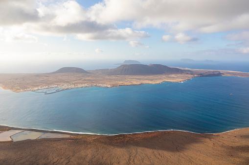 La Graciosa views from Lanzarote