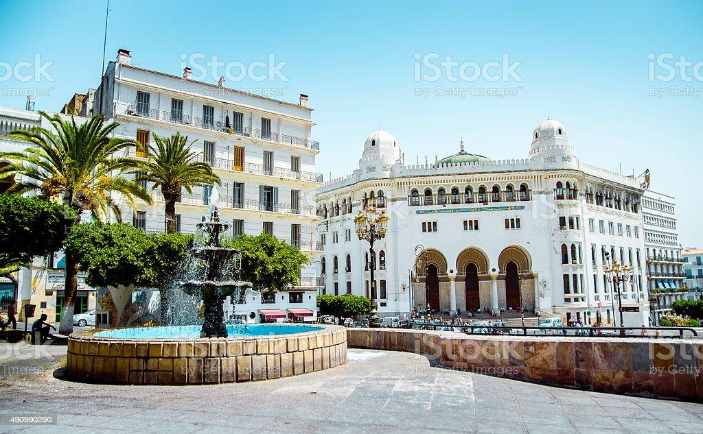 La Grande poste à Alger - Photo