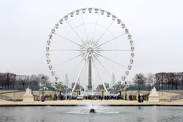 La Grande Roue, Paris, France stock photo