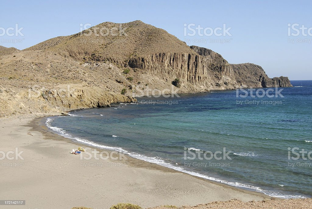 La Isleta beach royalty-free stock photo