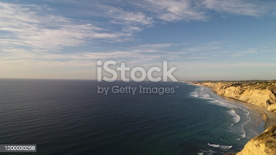 La Jolla aerial photos. California beach