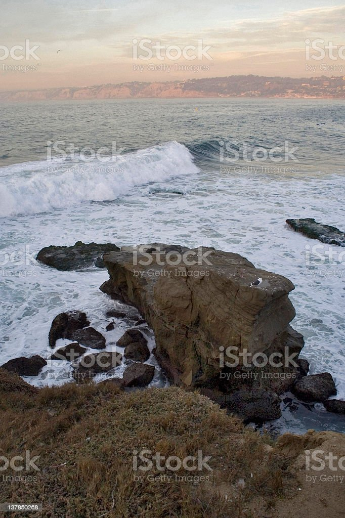 La Jolla Beach royalty-free stock photo