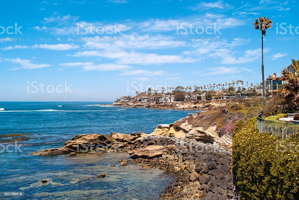 La Jolla California stock photo
