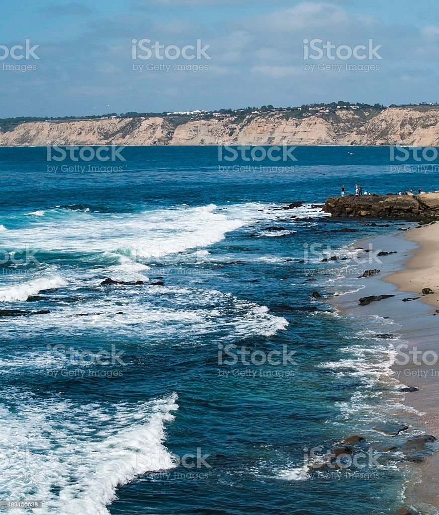 La Jolla Coast stock photo