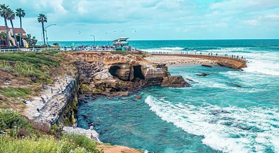 La Jolla Cove Beach Sea