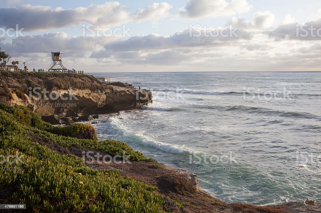 La Jolla Cove stock photo