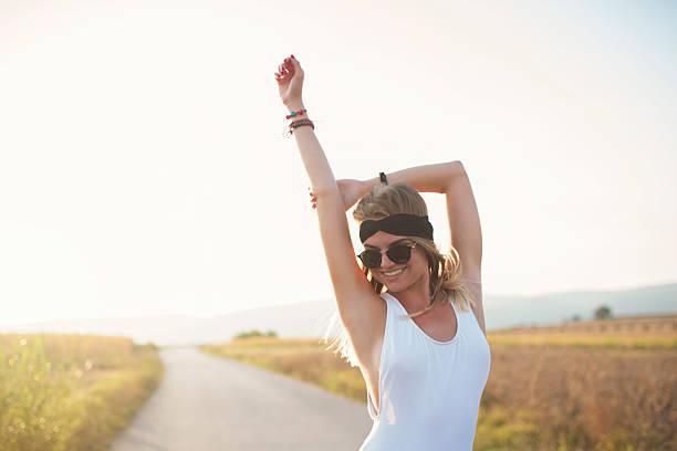 la la land - hippie stirnbänder stock-fotos und bilder