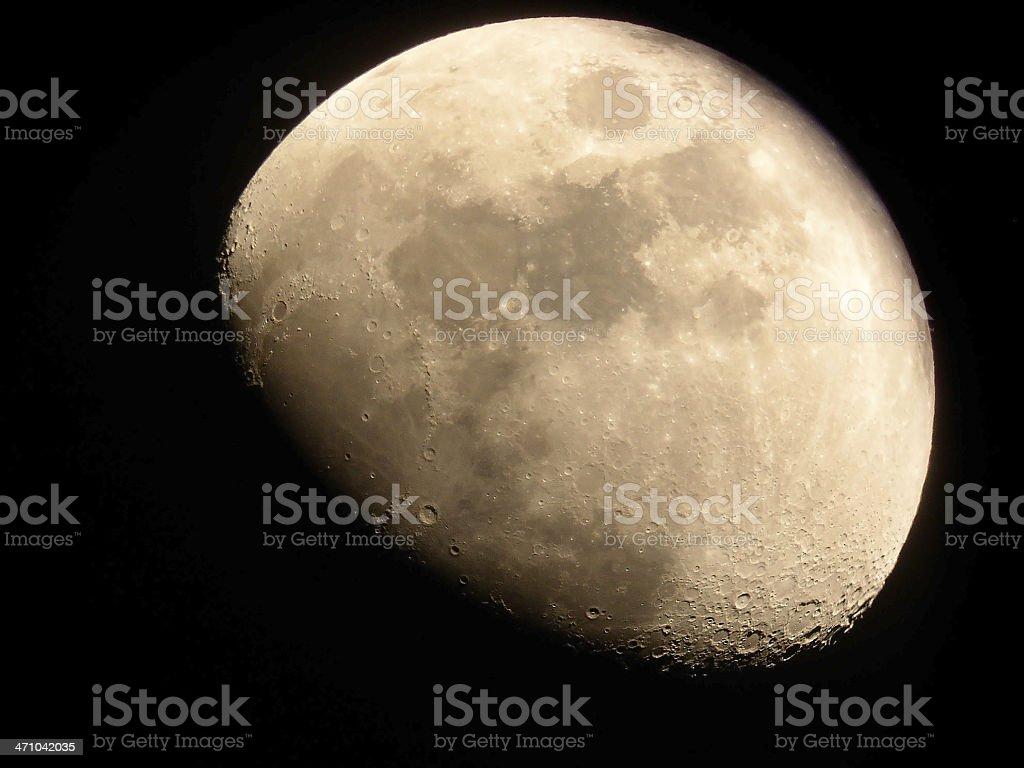 La Luna stock photo