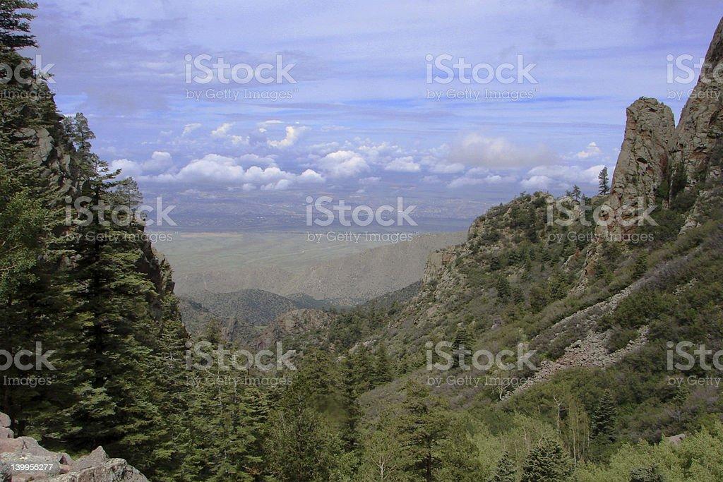 La Luz Trail stock photo