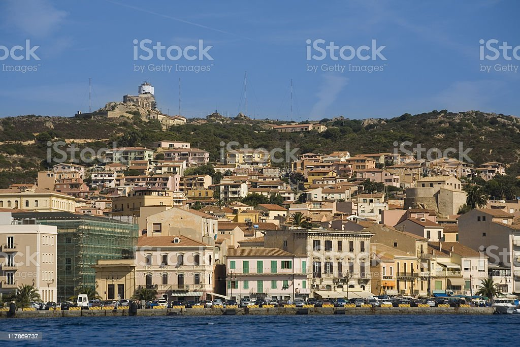 La Maddalena royalty-free stock photo