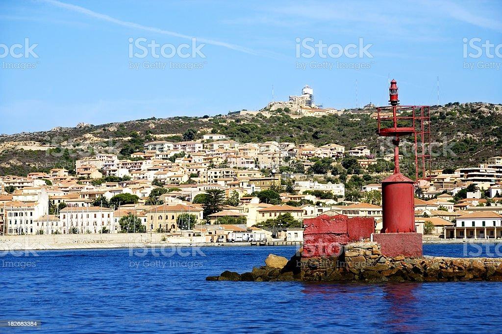 La Maddalena, Sardegna stock photo