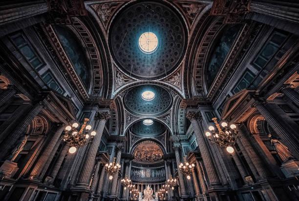 la madelaine kyrkan i paris - katedral bildbanksfoton och bilder