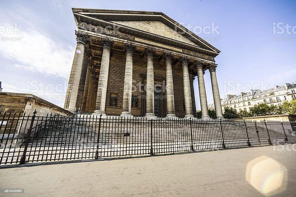 La Madeleine, Paris stock photo