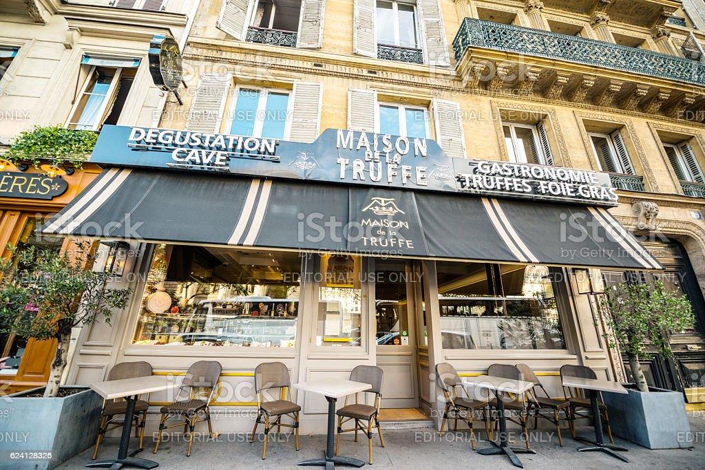 La maison de la truffe paris france stock photo more - La maison de la truffe ...