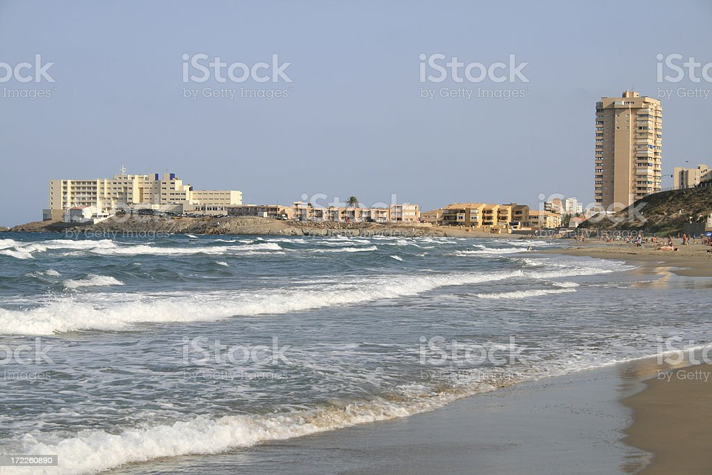 La Manga Beach royalty-free stock photo