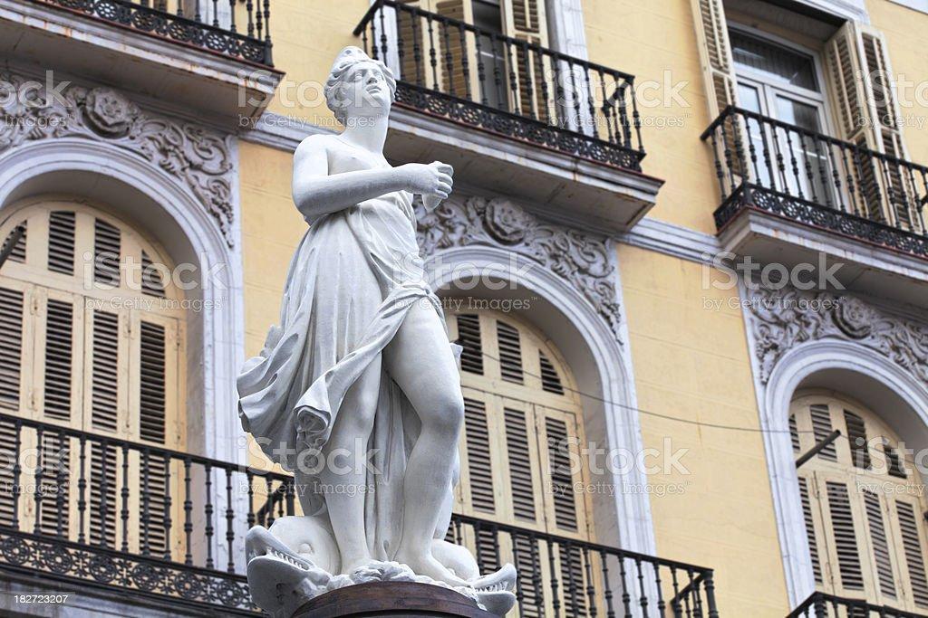la mariblanca, madrid royalty-free stock photo