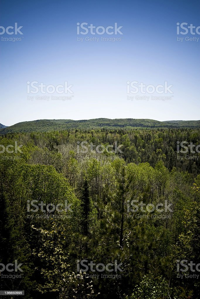 La Mauricie National Park of Canada royalty-free stock photo
