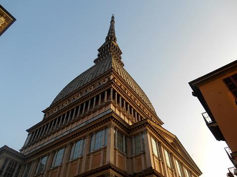 La mole Antonelliana, Turin, Italy