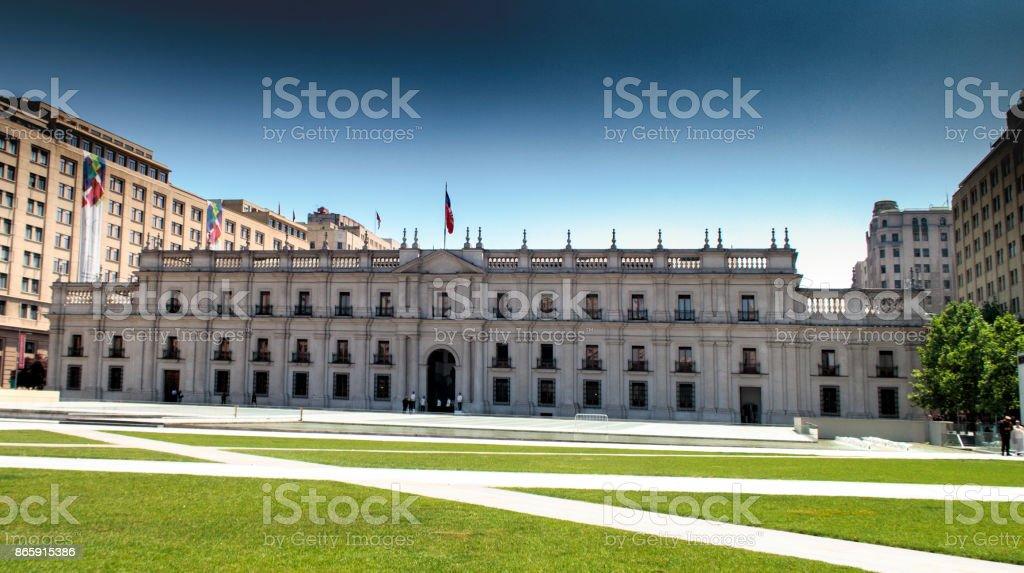 La Moneda stock photo