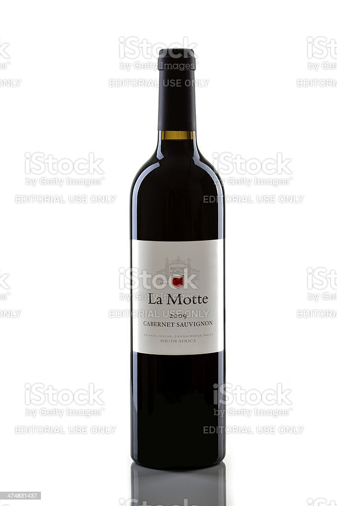 La Motte Wine stock photo