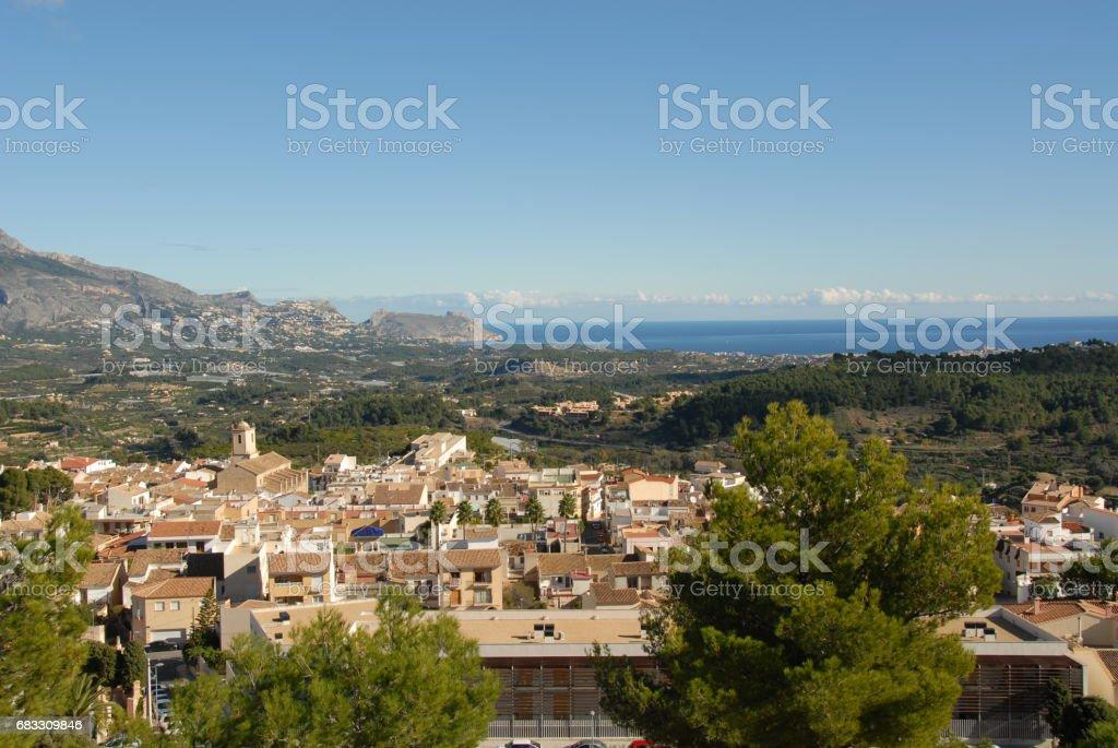La Nucia - Costa Blanca - Spanien photo libre de droits