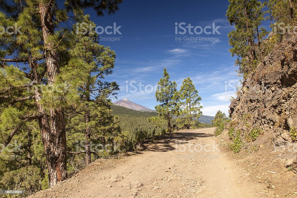 La Orotava Valley royalty-free stock photo